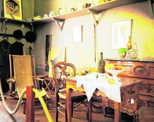 Hier hat Cézanne in seinen letzten Jahren gearbeitet.