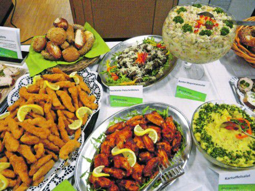 Hochwertige und vor allem regionale saisonale Zutaten kommen bei den Dornbirner Jugendwerkstätten (DJW) auf den Tisch.  Fotos: DJW