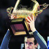 Andy Murray feierte in Peking Sieg Nummer 40