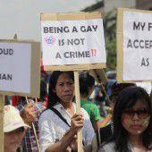 Homosexuelle fürchten um Rechte in Indonesien