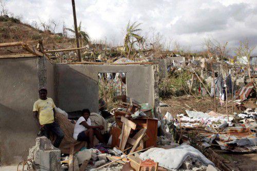 """Hurrikan """"Matthew"""" hat in Haiti schwere Verwüstungen hinterlassen. Retter beklagen, dass die Hilfe nur langsam anlaufe. Foto: Reuters"""