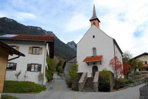 Im frisch renovierten St.-Antonius-Kirchlein wird am Freitag ein Dankgottesdienst abgehalten. Foto: VN/js