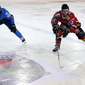 Eishockeyteam mit neun Vorarlbergern