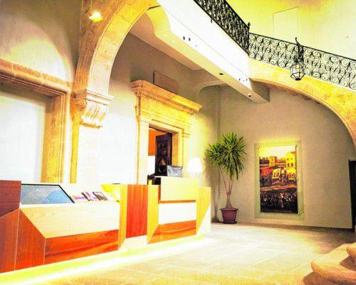 Im wunderschön sanierten Patrizierhaus befindet sich das Museum.