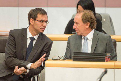 Impressionen von der aktuellen Stunde im Landtag. Foto: VN/Stiplovsek