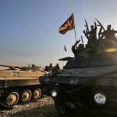 Schlacht um die letzte Hochburg des IS im Irak