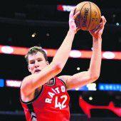 Zwölf Spielminuten für Pöltl beim Toronto-Sieg