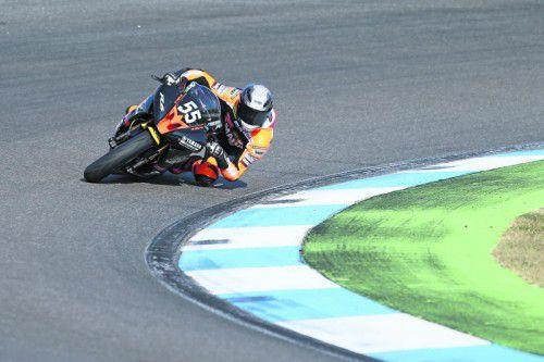 Jan Mohr fuhr in seiner ersten Saison im deutschen Yamaha-Dunlop-Cup konstante Resultate ein. Foto: JM