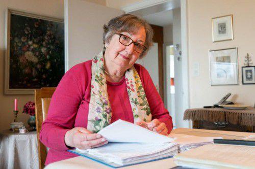 Jetzt kann sie wieder verschmitzt lächeln. Annemarie Küng und ihre Mitstreiter vertrieben Wettlokal-Betreiber. Foto: Stiplovsek