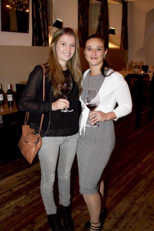 Johanna Matt (links) und Jessica Machac. Fotos: Franc