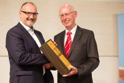 Johannes Drexel (l.)wurde im Rahmen der Generalversammlung offiziell vorgestellt. foto: kpv