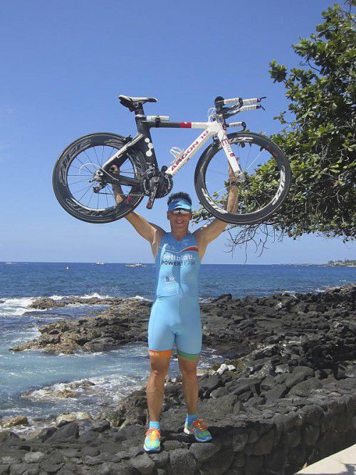 Jürgen Schellander erfüllte sich zu seinem 50. Geburtstag den Traum vom Ironman-Start bei der WM auf Hawaii.