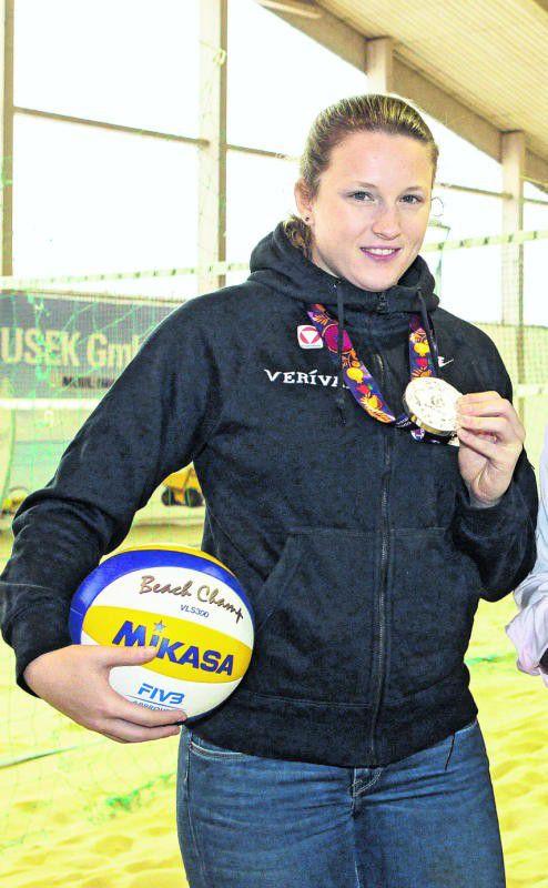 Katharina Schützenhofer möchte zu den Sommerspielen. Foto: gepa