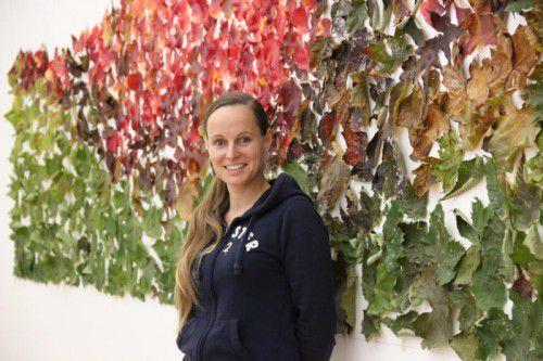 Kirsten Helfrich liebt in ihrer künstlerischen Arbeit das Prozesshafte, die Veränderung. Foto: AG