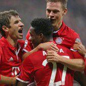 FC Bayern auf Achtelfinalkurs