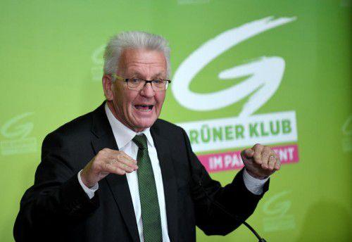 Kretschmann zählte zu den Gratulanten. Foto:APA