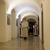 Einblick in Klostermauern