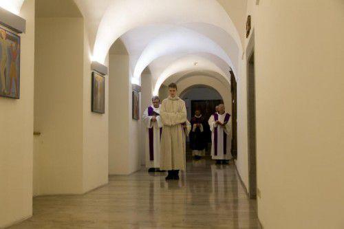 Kultureller Rundgang durch das Kloster Mehrerau.