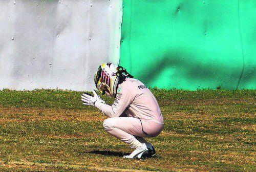 Lewis Hamilton machte das Aus in Sepang zu schaffen. Foto: apa