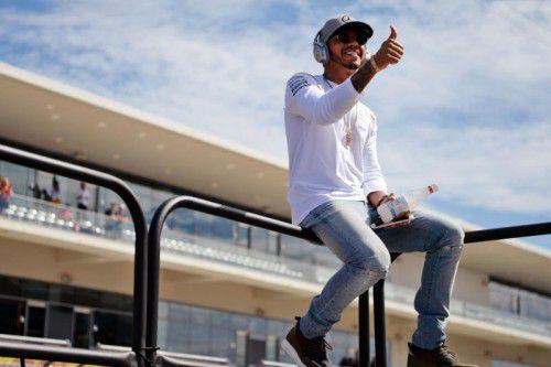 Lewis Hamilton möchte die Formel 1 in New York sehen. Foto: gepa