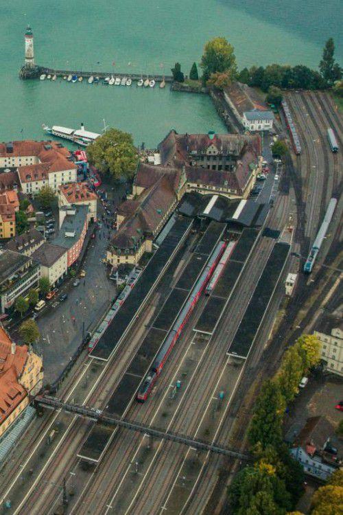 Lindau wird zum Bahnknotenpunkt ausgebaut.  Foto: VN/Steurer