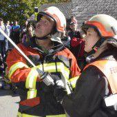Große Übung der Laternser Feuerwehr