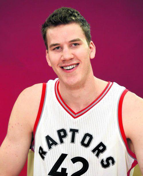 Machte im NBA-Test einen starken Eindruck: Jakob Pöltl. Foto: gepa