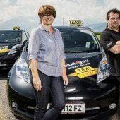 Die Taxifahrt unter Strom gesetzt