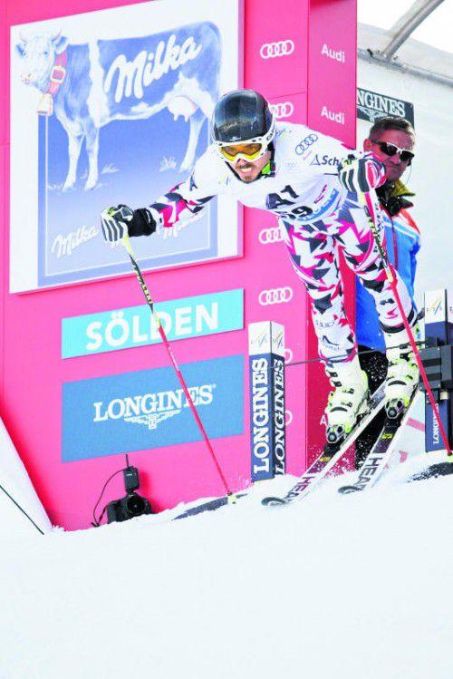 Marcel Mathis ist am Sonntag zum sechsten Mal beim Weltcup-Auftakt in Sölden dabei.  Foto: gepa