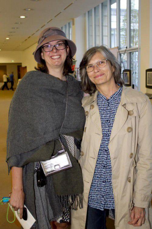 Margit Hinterholzer (l.) und Christine Flatz (Altacher Orgelsoireen).