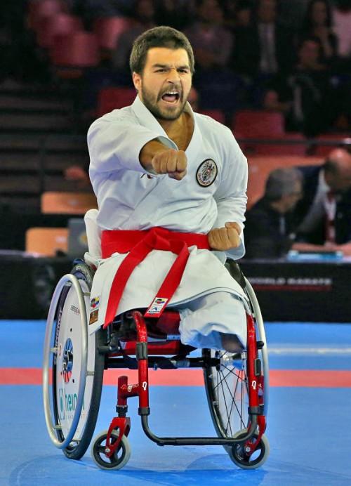 Markus Swoboda holte Silber in der Rollstuhl-Klasse. Foto: plohe