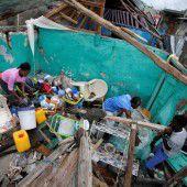 Hurrikan Matthew rast durch die Karibik