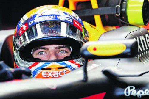 Max Verstappens Fahrweise gibt Anlass zur Diskussion.  Foto: apa