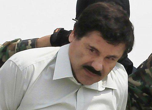 Mexiko hatte sich lange gegen die Auslieferung des Drogenbosses an die USA gewehrt. Foto: Reuters