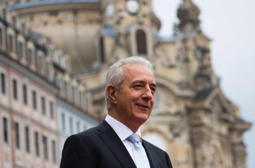 Ministerpräsident Stanislaw Tillich gibt Fehler zu.  Foto: Afp