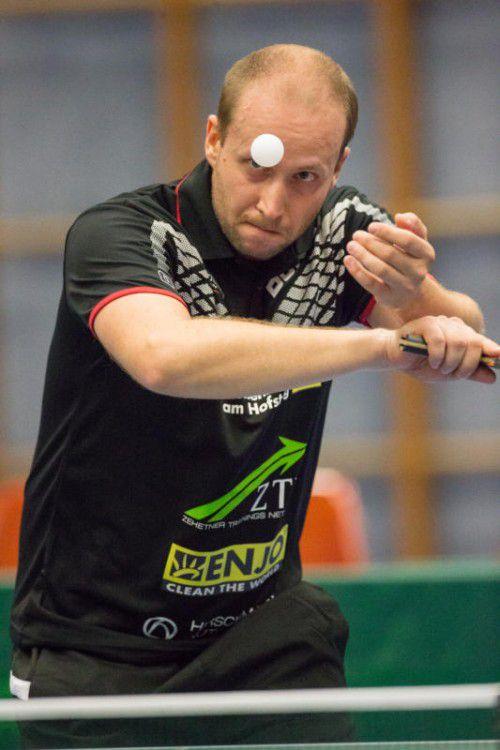 In der Einzelstatistik nimmt Miro Sklensky mit 17:1 Siegen die Topposition ein.VN/RP