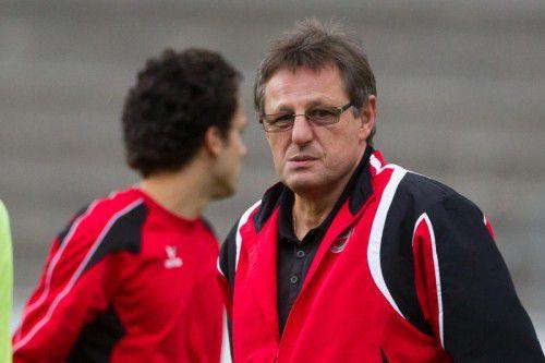 Mit Erwin Wawra will der FC Dornbirn auf die Siegesstraße zurück. PS