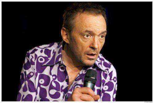 """Mit seinem Best-Of """"Hader spielt Hader"""" ist Josef Hader heute als Gast in der """"Kultur.LEBEN""""-Veranstaltungs-reihe im Sonnenbergsaal in Nüziders zu sehen. FOTO: hader"""