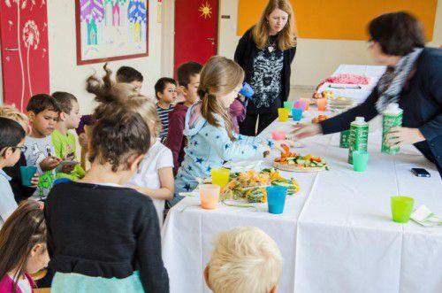 Mittagstisch an den heimischen Schulen. Auch da könnte es Clusterlösungen geben. Foto: Landwirtschaftskammer