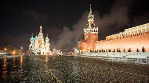 Moskau und Schnee gehören ebenso zusammen wie Moskau und das große wirtschaftliche Potenzial für Österreich.  Foto: Beate Rhomberg