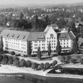 Vorarlberg einst und jetzt. Die ehemalige Rhomberg-Kaserne in Lochau