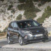 Facelift: Ford legt am Kuga dezent Hand an