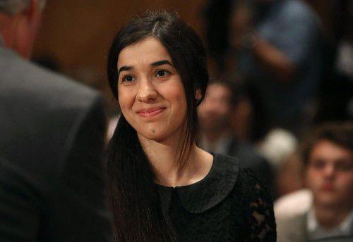 Nadia Murad ist eine der beiden Preisträgerinnen. Foto: AFP