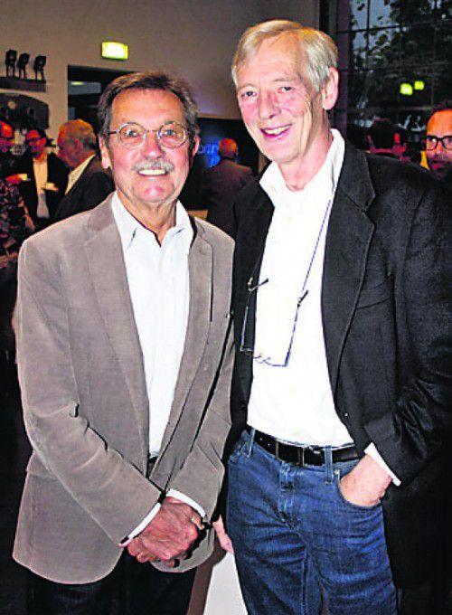 Nino Michelon (l.) und Consulter Markus Götze.