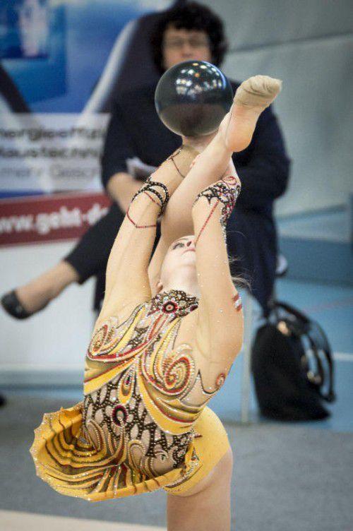 Noelle Breuß holte 2015 drei Bronzemedaillen. Foto: VN/DS
