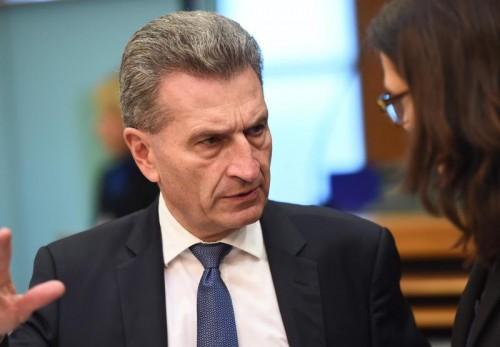 Oettinger lästerte über Chinesen, Frauen und Homosexuelle. AFP