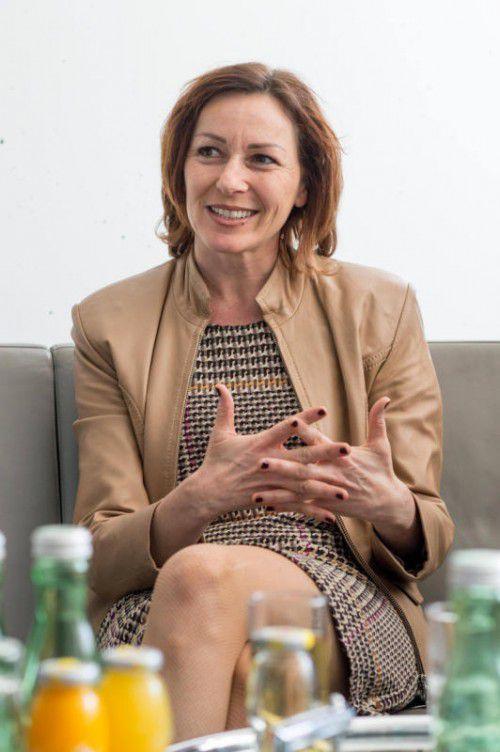 Mit großer Mehrheit als LT-Vizepräsidentin nominiert: Martina Rüscher.