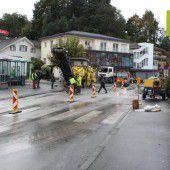Brückensanierung in Götzis ist angelaufen