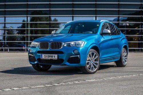 Platz da! Der potente BMW X4 M40i gibt den souverän-dynamischen Sportsfreund im feinen Anzug. Fotos: vn/steurer