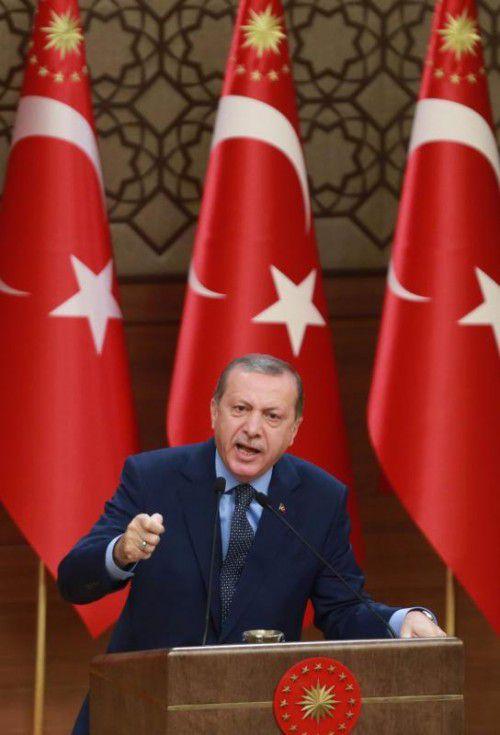 Präsident Erdogan kann weiterhin per Dekret regieren.  Foto: AFP